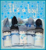 Baby Boy Gifts - gift ideas for newborn boys and twin boys