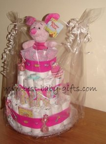 Step By Step Diaper Cake Stroller
