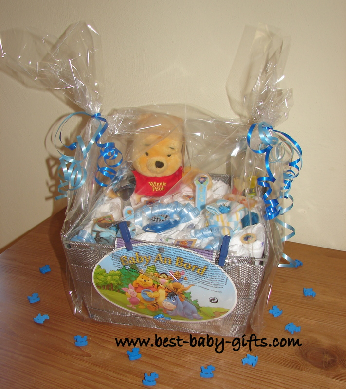 Unique Baby Gift Ideas To Make : Newborn baby gift baskets how to make a unique