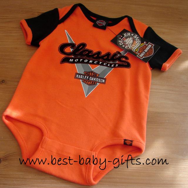 Harley Davidson Baby Gift Ideas