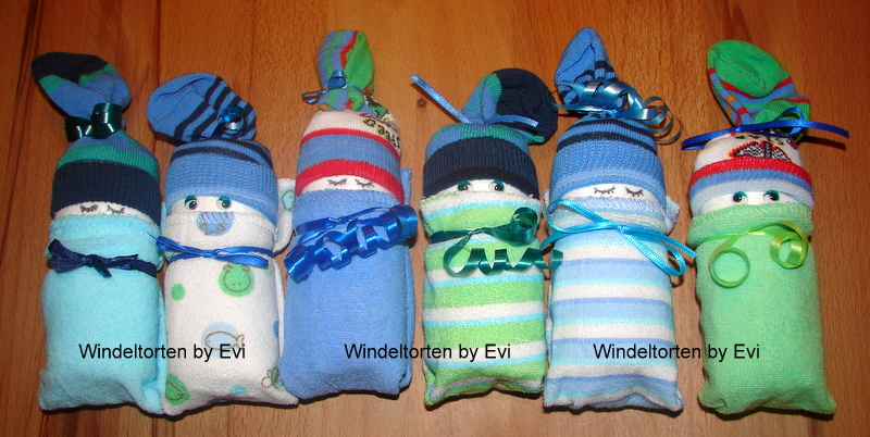 Windelbabys basteln anleitung zum basteln von s ssen for Geschenke zur geburt selbstgemacht