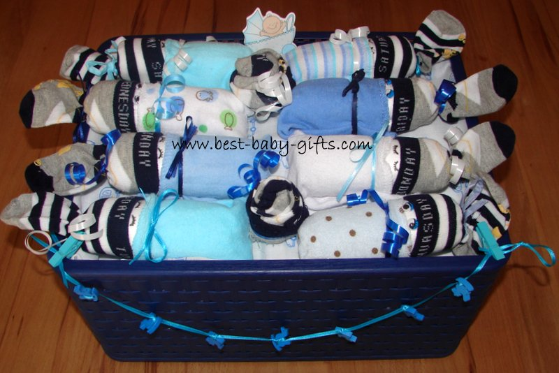 Unique Boy Diaper Cakes... instructions and photos of cute ...