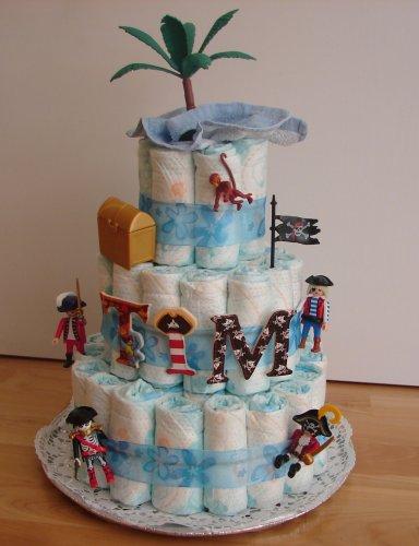 Boy Diaper Cake Ideas