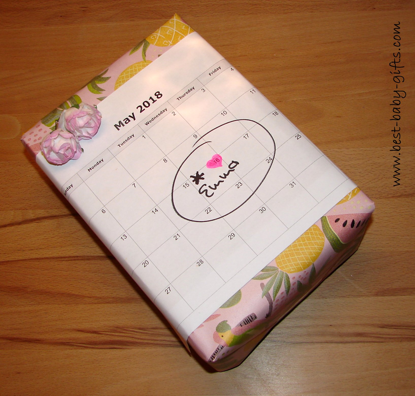 053b9504158c Baby Shower Gift Wrap - how to creatively wrap a gift