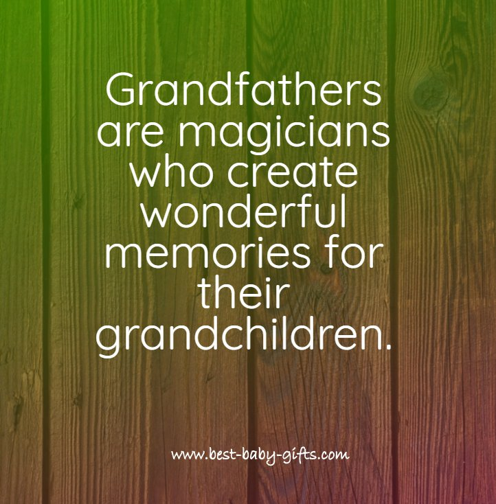 Grandpa Quotes: inspiring verses and poems for grandfathers