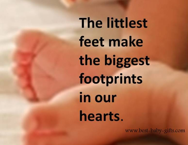 Newborn Quotes - inspirational and spiritual baby verses