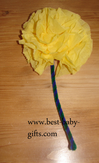 How to make paper flowers ta da my diy napkin flower negle Gallery
