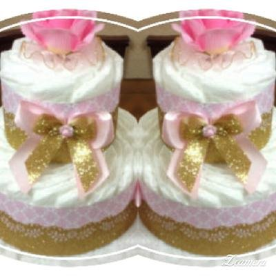glamour diaper cakes