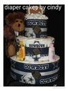 Cowboys diaper cake