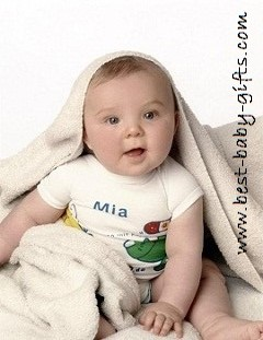 Unique Personalized Baby Gifts