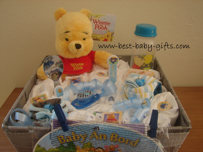 Winnie the pooh diaper cake tutorial and unique tips cute winnie the pooh diaper cake negle Image collections