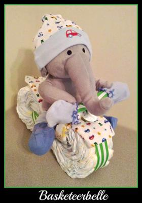 elephant diaper tricycle