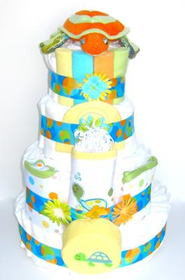 Under the Sea Diaper Cake
